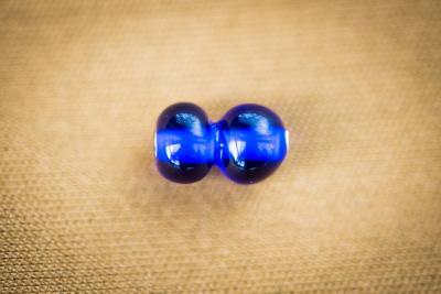Náhled výrobku: Dvojdílný modrý korálek